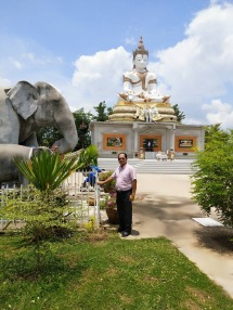 Man near Big Buddha